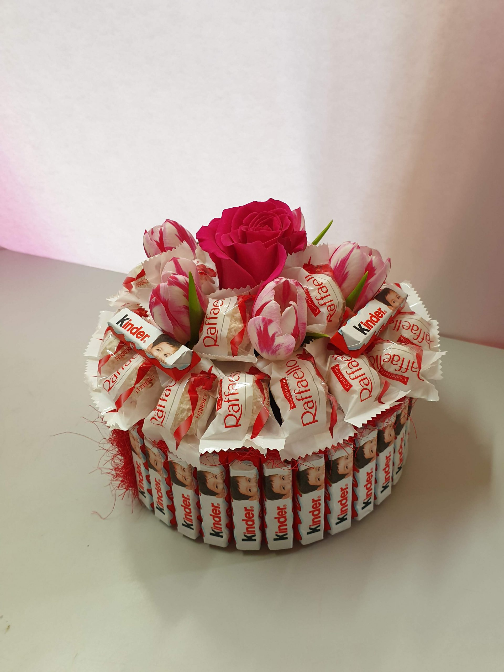 Raffaello i kinder flower box